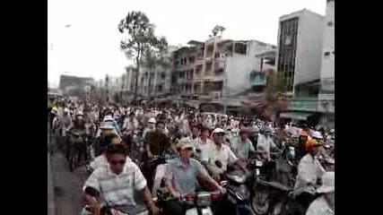 Vietnam Traffic - Ho Chi Minh