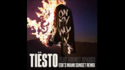 *2017* Tiesto ft. Bright Sparks - On My Way ( Edx's Miami Sunset remix )