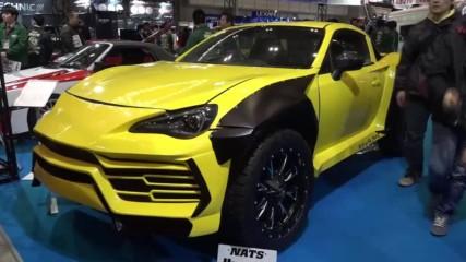 Японски студенти превърнаха Toyota в Lamborghini Urus