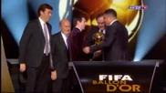 Лионел Меси спечели элатната топка 2011