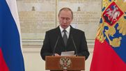 Russia: Putin congratulates newly promoted Russian officers on their appointments