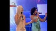 No Angels пеят на живо най - якият си Desapear!!!music Idol 2 *14.05.2008*