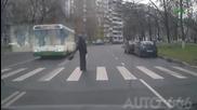 Неразумното поведение на пешеходците
