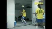Бразилия  -  Ronaldinho, Adriano, Robinho