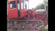 Трактор Дт - 75 палене