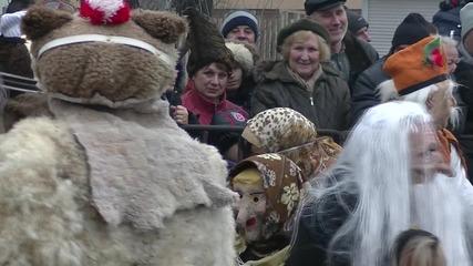 Кукерски фестивал 2015 Благоевград-част1