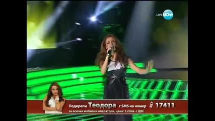 X Factor Теодора Цончева - елиминации - 13.12.2013 г