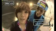 [clip] Mblaq Seungho and Mir speaking english