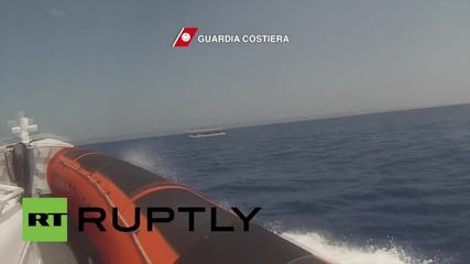 Italy: Coast Guard picks up 269 refugees and migrants in the Med
