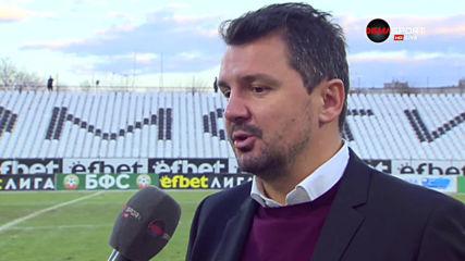 Крушчич: Не съм доволен, трябваше ни повече в завършващата фаза