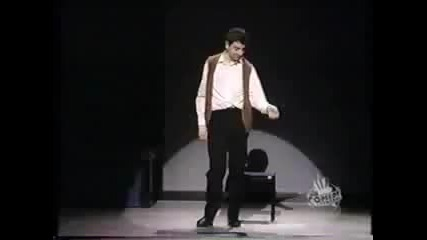 Rowan Atkinson - Invisible Drum Kit