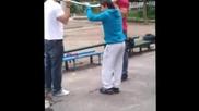 тренировка на лостовете в 120-то + падане на лост