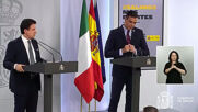 Spain: Sanchez meets with Conte, calls on EU to help Italy and Spain recover after coronavirus