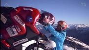 Мъж постига световен рекорд в планинското колоездене 223,30 км / ч - Ерик Бароне