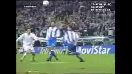 F - 100 Mejores Goles Del Real Madrid.wmv