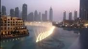 Фонтаните в Дубай в памет на Whitney Houston - I Will Always Love You