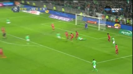 Сент Етиен - Лион 1:0, 21 кръг, Лига 1