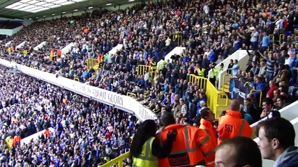 Chelsea fans sings at white hart lane: Champions of europe