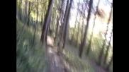 Downhill - трасе в Троян (10.10) с колеги по трасето