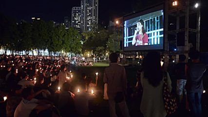 Hong Kong: Thousands hold vigil on 27th anniversary of Tiananmen Square