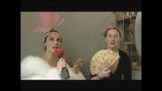 Мери Репортери:Агнес Дьо Стил И Мария Дьо Силвестър На Чай