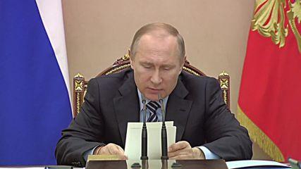 Russia: Putin discusses Russia's ten-year economic strategy