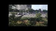 Терористи взривиха Бг Автобус на летище Варна - 18.07.2012