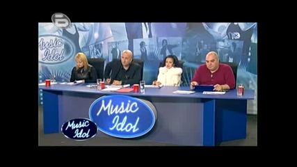 Music Idol 3 - Мария Отряза Момиче Заради Външния Му Вид