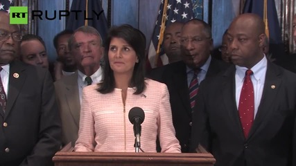 SC Governor Nikki Haley Calls for Confederate Flag Removal