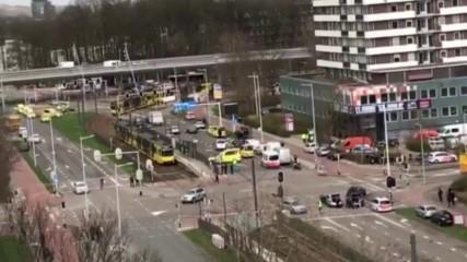 Стрелба в холандски град, има жертва и ранени