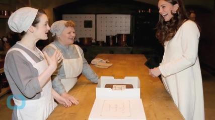 Downton Abbey TV Royalty Meet Actual Royalty