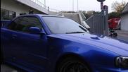 Японски звяр Nissan Skyline R34 Gt-r !!!