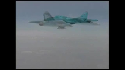 Su - 34 in action