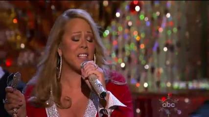 (hd) Mariah Carey - Oh Santa! (live Abc Christmas Special)