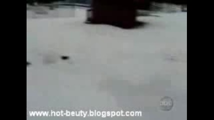 убийство на снежни човеци.. много смях.. ;дд
