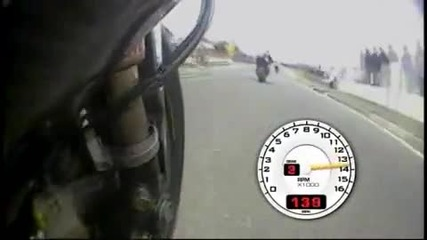 Nw 200 2009 on board Donald telemetry (gsxr1000 k9)