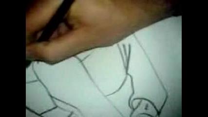 Pencilcrackdrawing