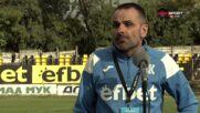 Кондев: Бяхме дошли за победа над Миньор, но равенството е реалния резултат