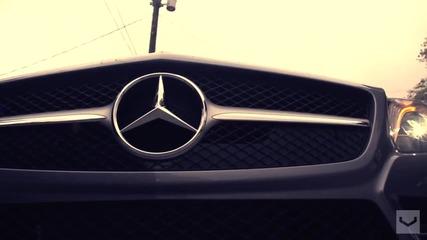 Mercedes Benz S L 550 с джанти Vossen 20