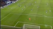 Голът на Силва за Ман Сити срещу Челси
