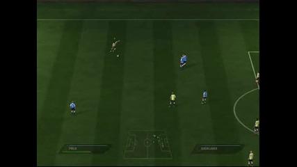 Fifa 11 - Гол от Пряк Свободен на Андреа Пирло от 38 метра