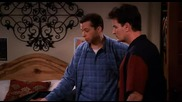 Двама Мъже И Пловина Two and a Half Men 2 x 15 - Smell the Umbrella Stand Dvdrip