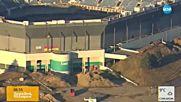 Провали се зрелищното взривяване на голям стадион в Детройт