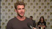 Liam Hemsworth Wants To Break A Chair At Comic-Con