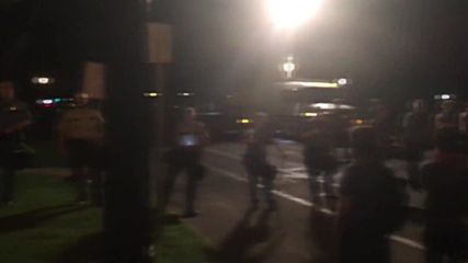 USA: Dozens of protestors arrested in standoff with police