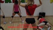 Секси момичета dance Booty_twerk за хубави тела в залата