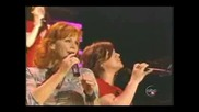 Reba McEntire  & Kelly Clarkson-  Because of you