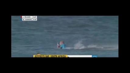 Бяла акула нападна сърфист по крайбрежието на Юар 19.07.2015