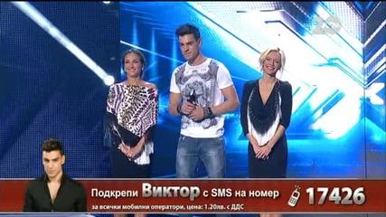 Виктор Самсонов - X Factor Live (23.10.2014)