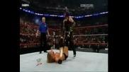 Wwe Cyber Sunday 2008 Jeff Hardy Vs Triple H (part 1)